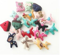 Wholesale Han edition lovely and sweet little pure and fresh and pure manual animal cartoon art brooch female students of garment accessories