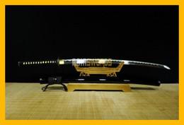 Wholesale Full Tang handmade T10 High Carbon Steel Japanese Samurai Katana Ninja Sword Ninjato