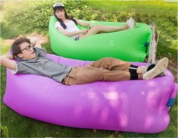 Wholesale Laybag Lay bag inflatable air lounge Lamzac hangout Laybeany Kaisr lamzac Instantly Inflatable Hangout Lounge Chair Inflatable Sleep DHL