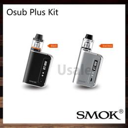 Wholesale SMOK OSUB Plus Kit With OSUB Plus W TC Mod mah Buildin Battery ml Cloud Storm Brit Sub Tank Original