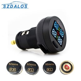 Wholesale TPMS The New TP200 Car Tire Pressure Monitoring System Car Tire Diagnostic tool support Bar and PSI