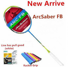 Hot sell ArcSaber FB badminton racket carbon FB racket JP Version FB badminton racquet 1 pcs