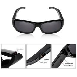 HD 720P Spy Glasses Eyewear Camera Sports DV DVR Mini Sunglasses Hidden Camera Video Recorder Portable Candid Camera Secuirty Camcorder