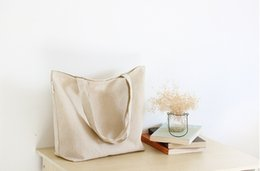 Free Shipping Via FedEx Wholesale Monogrammable Women Canvas tote Bag, solid color bag , Shopping Bag, Luggages EAD-0010