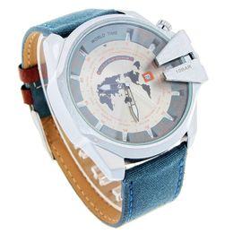 Wholesale Hot luxury Brand Fashion Quartz Watch al montre Waterproof DZ Men Citizens Military Sports Orologio relogios masculinos