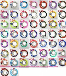 Wholesale Mix Size S M L XL bracelet seaside memorial Silicone bracelet with Tags SB089