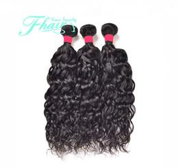 New 8A Indian Hair Water Wave Wet And Wavy Hair 3Bundles Raw Indian Hair Water Wave 100%Unprocess Human Hair No Shedding