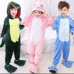Wholesale Hot New Thick kids christmas cartoon Sleepwear Pajamas party Costume Pajamas lovely Sleepwear High Quality best gift