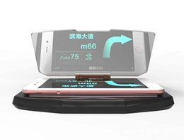 Wholesale Car GPS case HUD creative mobile navigation stents vehicle mounted mobile phones support vehicle navigation head up projection
