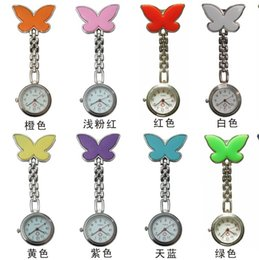Wholesale new fashion popular butterfly nurse watch medical wrist watch chest wall charts Multicolor optional