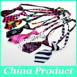 Wholesale Fashion Polyester Silk Pet Dog Tie Adjustable Handsome Ties Necktie Dog Cat Grooming Supplies Pets Clothing Products