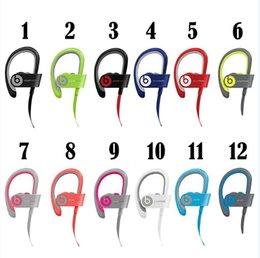 Wholesale Beats powerbeats wireless Sport Bluetooth Headset powerbeats2 Active collection noise Cancel headphone Colors with retailbox refurbish