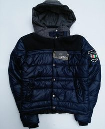Wholesale Hot sales of winter men s down jacket Cangqing then fight wool woolen cloth Kelin Bailey brand warm coat