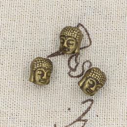 Wholesale 70pcs Charms buddha mm Antique Making pendant fit Vintage Tibetan Bronze DIY bracelet necklace