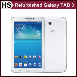 Wholesale Refurbished Original Samsung GALAXY Tab T211 SM T211 WIFI G SIM quot GB RAM GB ROM MP Camera Unlocked Tablet White DHL