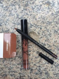 Wholesale In Stock Real Pictures Makeup Kylie Lip Kit by Kylie Jenner Lipstick Kylie Lip Gloss Liquid Lipstick Matte Colors Lip Kits