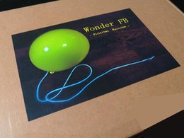 Wholesale Wonder FB floating balloon Gimmick DVD Close up Floating Metal stage magic magic props