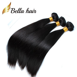 (Only to USA)Cheapest Braid Donor Hair 100 Indian Human Hair Extensions 12-14-16-18-20-22-24inch for Black Women Bella Hair 3 4 5pcs per lot