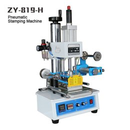 ZY-819H Automatic Stamping Machine,leather LOGO Creasing machine,pressure words machine,LOGO stampler,name card stamping machine