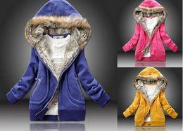 Promotion hoodie de la fourrure pour les femmes New Fur Collar Sunlun Ladies 'Cotton Hooded Jacket Hoodies, Femmes Long Sleeve Tracksuits, femmes costume de sport, harajuku