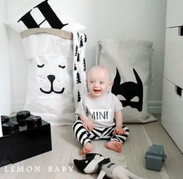 Wholesale Large Baby Toys Storage Canvas Bags Bear Batman Laundry Hanging Drawstring Bag Cute Household Canvas Pouch