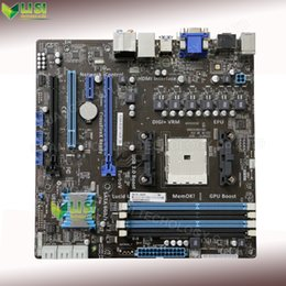 Wholesale Second hand For ASUS F2A85 M Desktop Motherboard USB3 Socket FM2 For AMD A85X DDR3