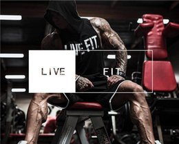 Wholesale 3 color new muscle brothers LVFT men s sports cotton sleeveless hooded sweater fitness vest size M L XL XXL