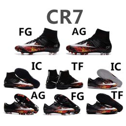 Wholesale 2016 Mercurial Superfly CR7 FG Soccer shoes For Men And Women Shoes Mercuria Superfly Original Cleats Botts Football boot Size36