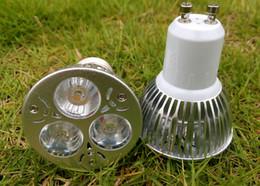 3W GU10 E27 E14 LED Spotlights Bulb Lamp AC 85-265V GU 10 Ceiling Spot 3leds Spotlights Warm white Cool white for Indoor Bedroom Bathroom