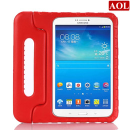 Wholesale Portable Kids drop resistance EVA tablet PC protective for inch Samsung galaxy Tab E T560 T561 desk stand back case cover