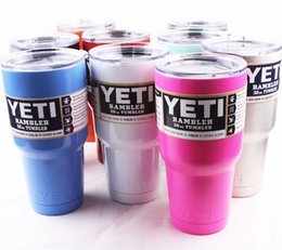 Wholesale P Hot Sale cheap Rambler Tumbler oz oz oz YETI Cups Cars Beer Mug Large Capacity Mug Tumblerful