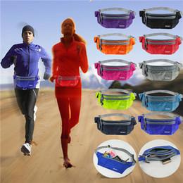 Wholesale Unisex Sport Running Bum Bag Travel Handy Hiking Fanny Pack Waist Belt Zip Pouch