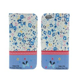 Wholesale iphone6 S Rural style with the color painting two in one multi function protect the holster card phone sets British style restoring ancient
