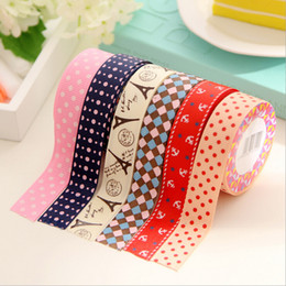 Wholesale-1 pcs DIY Cute Satin Lace Decorative Tape Adhesive Tape Washi Fabric Tape Stickers Masking Tape Stationery School Supplies