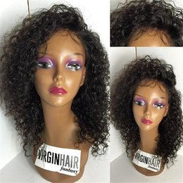 Peruvian Human Hair Curly Full Lace Wigs   lace front wig glueless with Baby Hair For black Women Cheap Hair Wigs