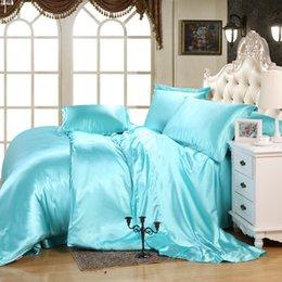 Wholesale Free Pure silk wedding bedding Tencel Silk sheet