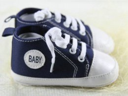 Wholesale Newborn Soft Bottom First Walkers Toddler Shoes Baby Shoes Sport Shoes Cotton NEW shoes paypal