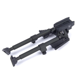 Wholesale SINAIRSOFT CNC Aluminum Rifle Bipod Tactical Adjustable With Picatinny Rail Mount KAC Tactical Quick Release Standard Swivel Bipod