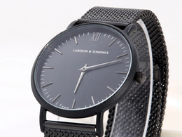 New Men Watches Top Brand Luxury Male Steel Strap Casual Quartz L&J Watch Men Wrist Sport Watch