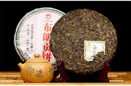 Bulan Mountain Raw Pu'er Tea of Famous Brand Longyuanhao-380g Sheng Cha Green Cake Chinese Tea lose weight PP-023 wholesale