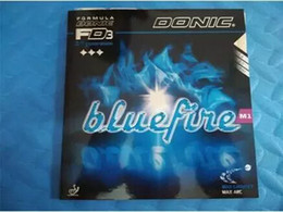 Wholesale Donic Blue fire M1 Bluefire Pips in Milky white sponge Table Tennis Rubber Strong Spin Pimples In Ping Pong Rubber