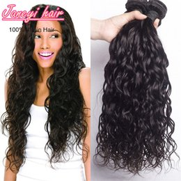 Wholesale Brazilian Water Wave Hair Extension Brazilian Human Hair Weave Big Curly Unprocessed Hair Bundles Natural Color Dyeable