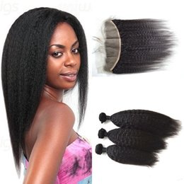 2016 new fashion Unprocessed natural color Kinky Straight Weave Cheap Yaki Hair Weaves Malaysian Human Hair