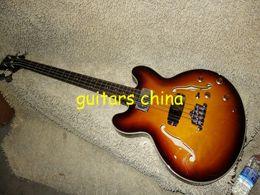 Cuerdas custom shop en Línea-La guitarra de encargo del OEM de la guitarra baja del resplandor solar de la tienda de la guitarra baja de la secuencia de la aduana 4 libera el envío