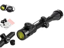 20mm Rail High Quality 3 - 9 X 40 EG Long Distance Hunting Riflescope Full Size Cross Sight Tactical Optics Scope
