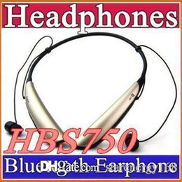 Wholesale HBS Stereo Bluetooth headset HBS wireless headphones HBS750 earphones with logo bluetooth module headset H EJ