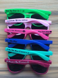 Gafas de sol wayfarers en Línea-Aduana de las gafas de sol del wayfarer del recuerdo de las gafas de sol de la boda