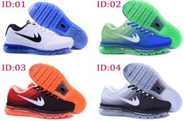 Wholesale 2017 Mens Fashion Air Sports Running Max Shoes Comfort Mesh Athletic Walking Training Sporting Shoes Sneakers size