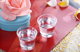 30ml 40ML 50ML Airline Cup Disposable Hard Plastic mini tasting drinking tea cup food grade PS material 2500PCS