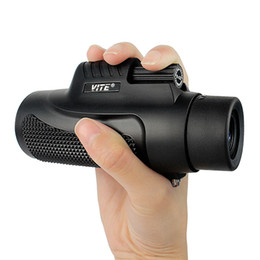 Wholesale VITE x32 Waterproof and Fogproof Single Hand Focus Travelling Monocular Telescope For Bird Watching Wildlife F9116AA